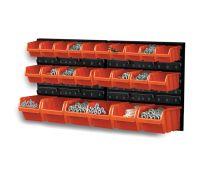 Zestaw kuwet, pojemników na narzędzia - 24 kuwet + tablica - NTBNP2