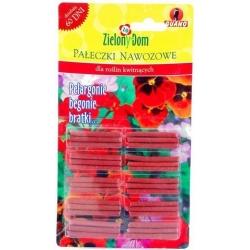 Gnojila za cvetoče rastline (pelargonija, begonija in vrtna maćuhka) - Zielony Dom® - 30 kosov -