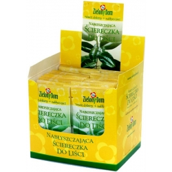 Toallita para hojas: limpia, lustre y fertiliza. -