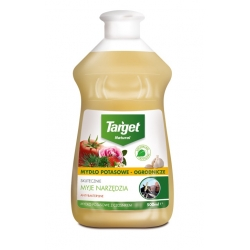 Garden potassium soap with garlic - 500 ml