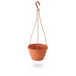 Závesný kvetináč - Agro - 27 cm - Terakota -
