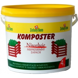 Komposter - memperkaya kompos dan menetralisir bau - 4 kg -