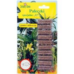 """Spetsiaalsed väetisepulgad """"O"""" - kahjuritest nõrgestatud taimedele - Zielony Dom® - 20 tk -"""
