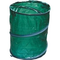 Всплывающая садовая сумка для сухих листьев, травы, сорняков и мусора - 85 литров -