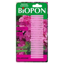 Geranium gnojilo palice - stabilna rast in obilno cvetenje - 30 kosov -