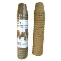 Круглые торфяные горшки ø6 см - 20 штук -