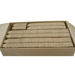 Macetas de turba cuadradas, macetas de iniciación 6 x 6 cm - 2400 piezas -