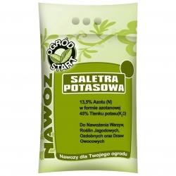 Kaliumsalpeter - kvælstof-kalium-gødning i haven - 2 kg -