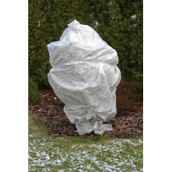 White winter fleece (agrotextile) - protects the plants from frost - 1.60 x 10.00 m
