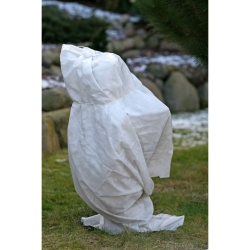 White winter fleece (agrotextile) - protects the plants from frost - 1.60 x 20.00 m