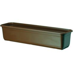 """Balkónový box """"Venuša"""" - hnedý - 40 cm -"""
