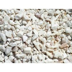 Kelabu marmar putih - 4-10 mm - 5 kg -