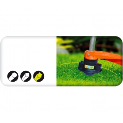 Mowing line for grass trimmers - 3.0 mm, 15 m - star-shaped - CELLFAST