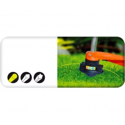 Mowing line for grass trimmers - 3.0 mm, 15 m - round - CELLFAST