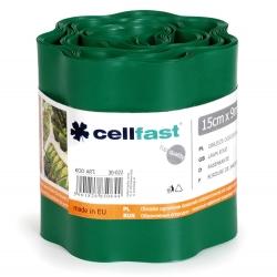 Dark green lawn edging - 15 cm x 9 m - CELLFAST