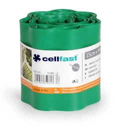 Green lawn edging - 15 cm x 9 m - CELLFAST