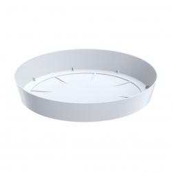 Lekka podstawka do doniczki Lofly - 10,5 cm - biała