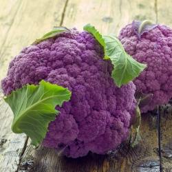 Cauliflower di Sicilia Violetto seeds - Brassica oleracea convar. botrytis var. botrytis - 270 seeds