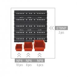 أداة حائط ، مجموعة منظمات - NTBNP2 -