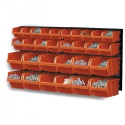 Zestaw kuwet, pojemników na narzędzia - 30 kuwet + tablica - NTBNP3