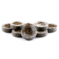 Расширяемые торфяные гранулы 33 мм - 12 штук -