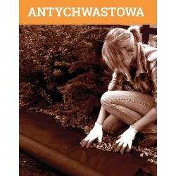 Bulu anti-gulma coklat (agrotextile) - untuk mulsa - 1,60 x 5,00 m -