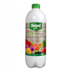Biohumus MAX-HUMVIT - 100% organické vermikompostové hnojivo - Target® - 1 liter -