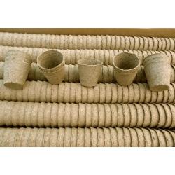 Macetas de turba redondas, macetas de iniciación 10 x 9 cm - 840 piezas -