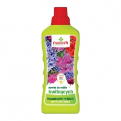 Flowering plants' mineral fertilizer - Fruktovit® - 1 litre