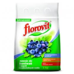 Nawóz do borówek i innych kwasolubnych roślin - Florovit - 1 kg
