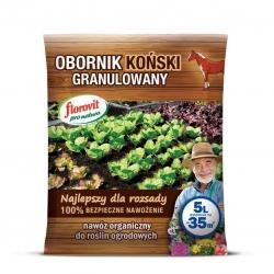 100% органический гранулированный конский навоз - Флоровит® - 5 литров -