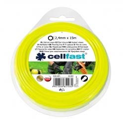 Косилка для триммеров - 2,4 мм, 15 м - круглая - CELLFAST -