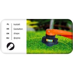 Murutrimmerite niitmisliin - 1,6 mm, 15 m - ümar - CELLFAST -