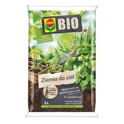 BIO Suelo de hierbas y plantas aromáticas - Compo - 5 litros -