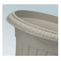 """""""Roma"""" urnas formas stādītājs - 20 cm - terakotas krāsā -"""