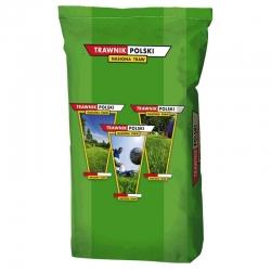 Trawnik Polski (Polish Lawn) Gazon - for home gardens and showcase locations - 5 kg