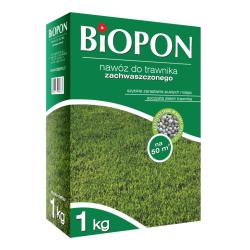 Hnojivo na trávnikom napadnuté trávniky - BIOPON® - 1 kg -