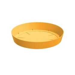 بشقاب بشقاب سبک گلدان گل Lofly - 15.5 سانتی متر - زرد -