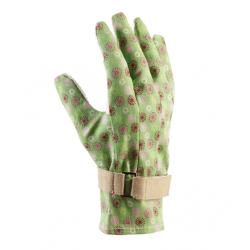 قفازات ماجباكا الخضراء الأنيقة والمريحة للحديقة -