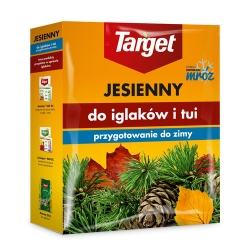 Rudens skujkoku mēslojums - palielina skujkoku salizturību un ziemcietību - Target® - 1 kg -