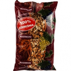 Wood chips for smoking and barbecuing - 100% sweet cherry - 0.45 kg