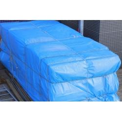 Tarpaulin - 3 x 5 m - biru -