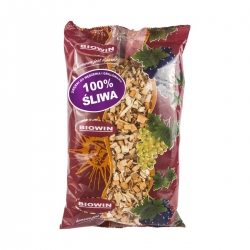 Wood chips for smoking and barbecuing - 100% plum tree - 0.45 kg