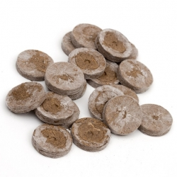 Expandable peat pellets 18 mm - 10 pieces