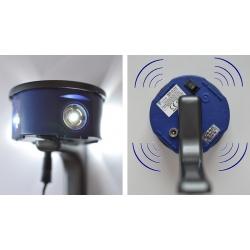 Erős ultrahangos és LED rágcsáló repeller Quattro LED - egerek, patkányok, martens, weasels -