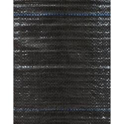 Tejido negro anti-malezas (agrotextil) - más grueso que el vellón - 1.60 x 5.00 m -