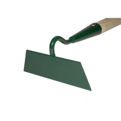 One sided 14 cm hoe, with a handle
