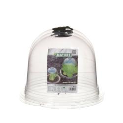 Mini kasvuhoone - maakera - kaitseb taimi äkilise külma eest - 26 x 20 cm - 3 tükki -