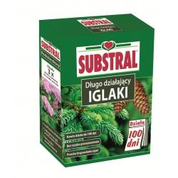 """""""100 dni"""" (100 päeva) väetis okaspuudele, rododendronitele ja teistele acidofiilsetele taimedele - Substral® - 1 kg -"""