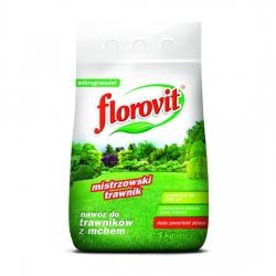 Fertilizante para césped infestado de musgo - Florovit® - 5 kg -
